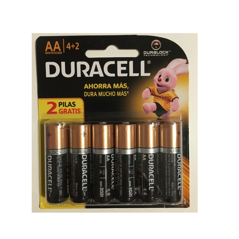 Pila Duracell Tipo AA