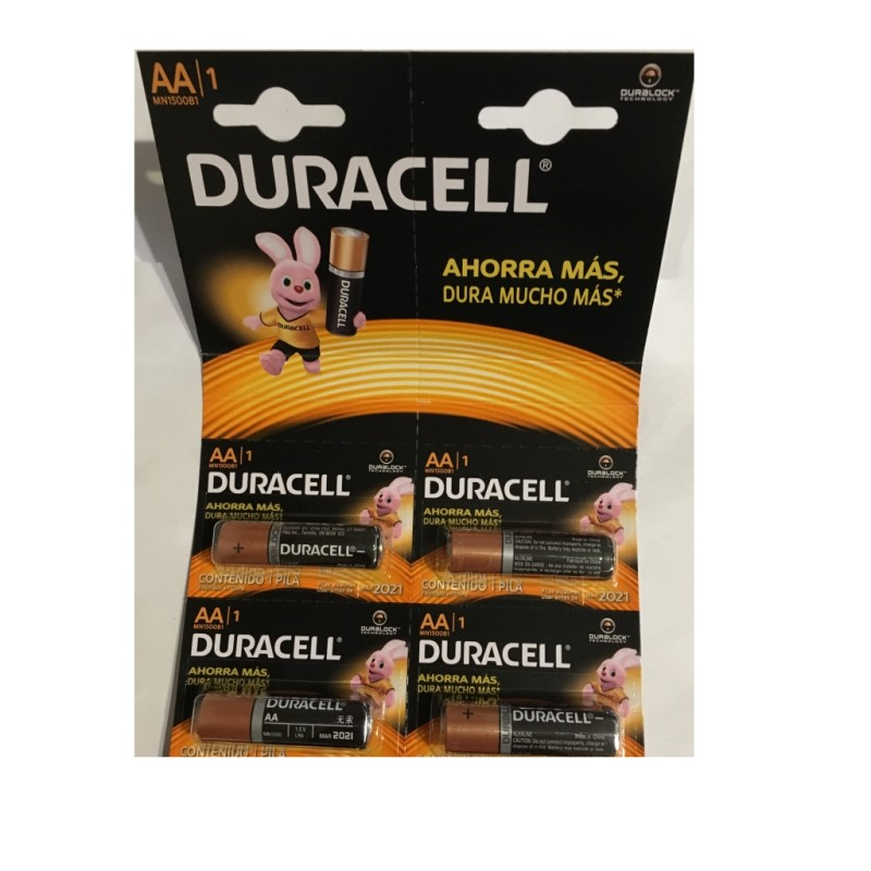Pila Duracell Tipo AAx12