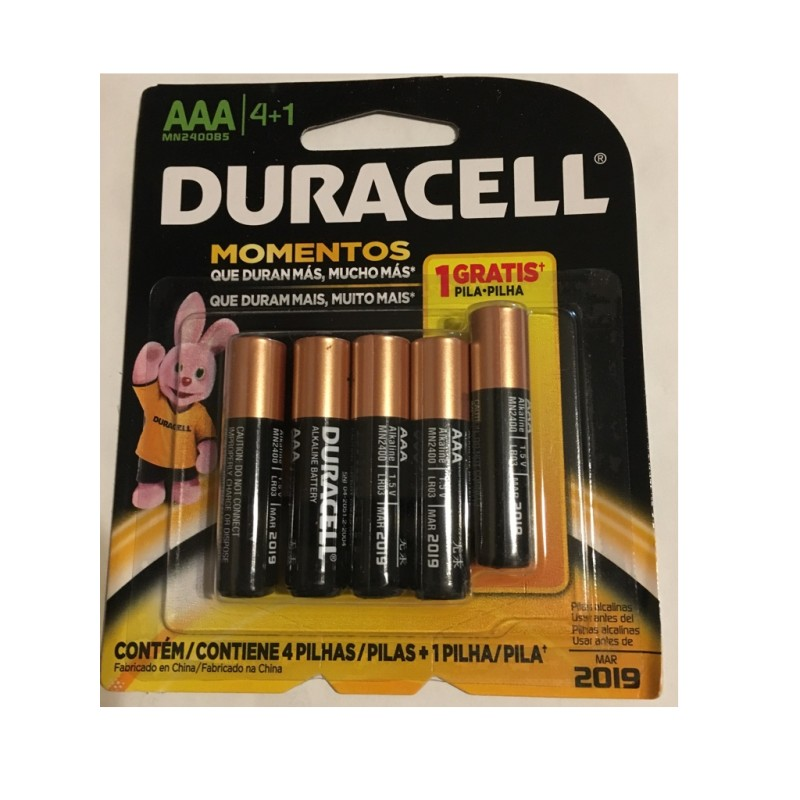 Pila Duracell Tipo AAA