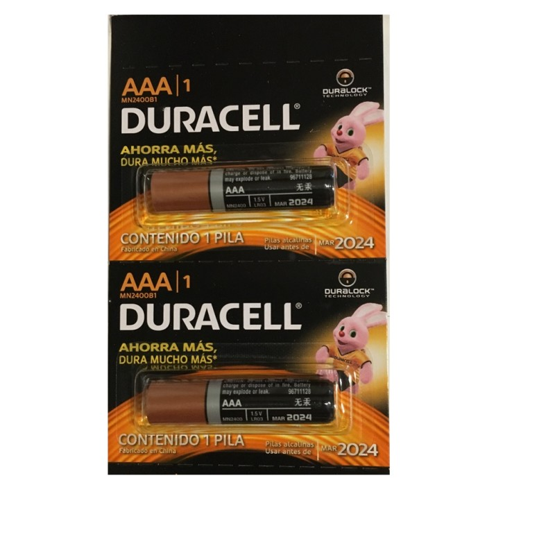 Pila Duracell Tipo AAAx12