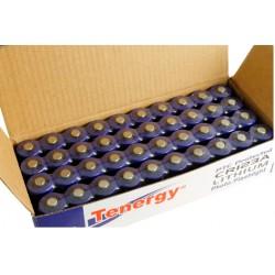Combo 40 Baterías Tenergy Litio Primario CR123A con Protección PTC