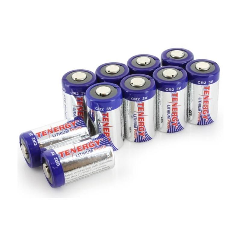 Batería Tenergy Litio CR2 con Protección PTC