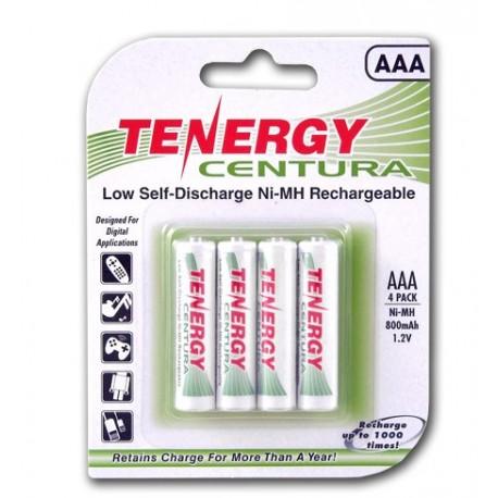 4 Tenergy Centura 1.2V 2000mAh Ni-MH AA Recargables