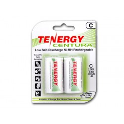2 Tenergy Centura 1.2V 4000mAh Ni-MH C Recargables