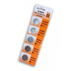 5 unidades CR2025 Litio de botón