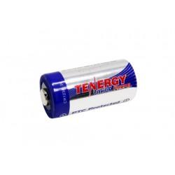 Batería Tenergy Litio Primario CR123A con Protección PTC