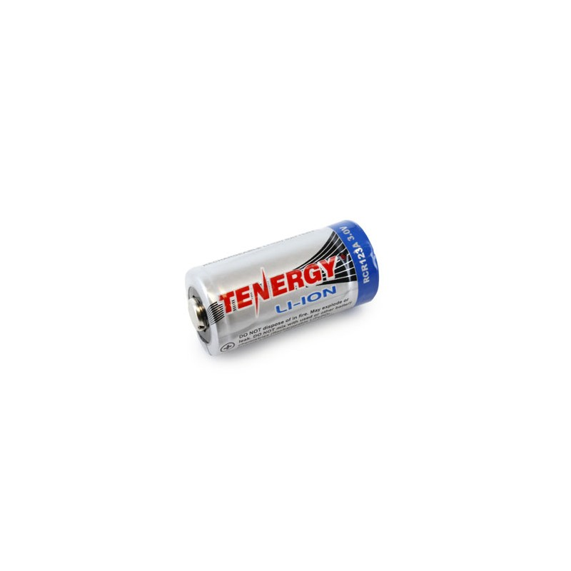 Tenergy RCR123A 3.0V Li-Ion Recargable