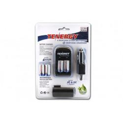Cargador Inteligente RCR123A + 4 baterías RCR123A