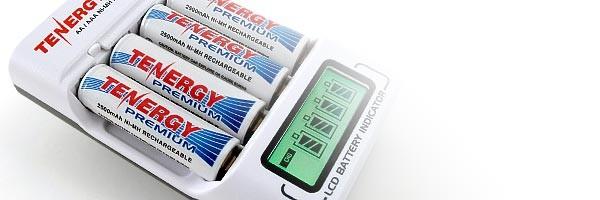 Cargadores para varios tipos de baterías